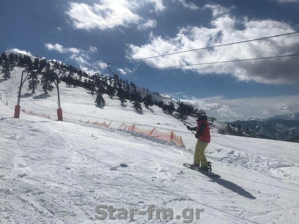 Συνεχίζεται η προετοιμασία των αθλητών της Εθνικής Ελλάδας στο Χιονοδρομικό Κέντρο Βασιλίτσας (εικόνες)