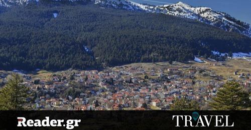 Σαμαρίνα: Μια πτήση πάνω από το ψηλότερο χωριό της Ελλάδας