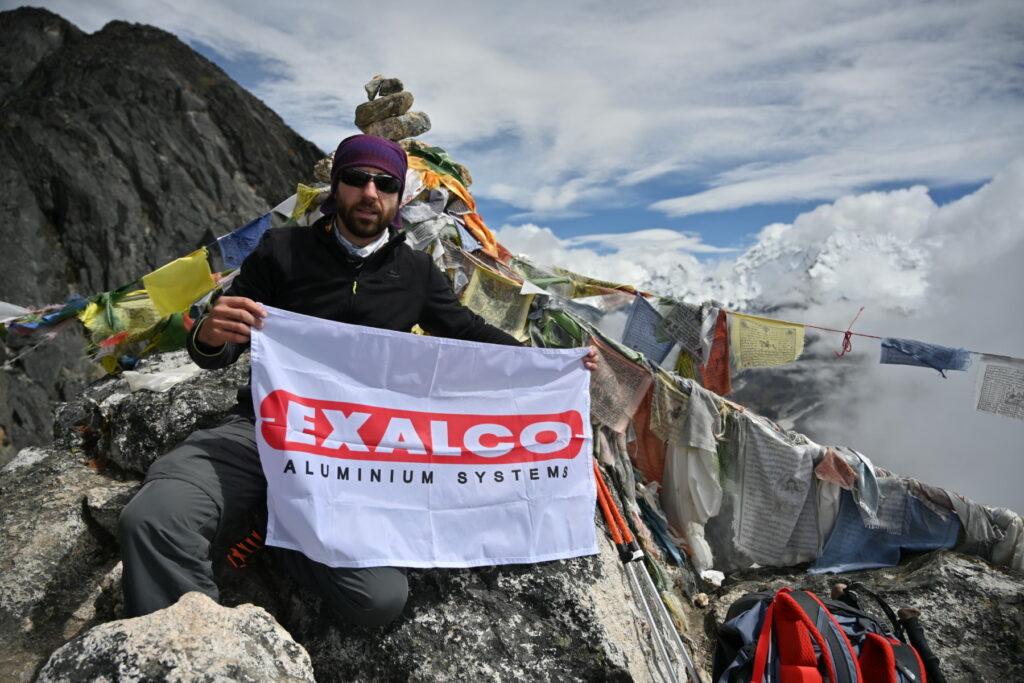 Θάνος Μαργαρίτης: Στην κορυφή των Ιμαλαΐων με την Exalco