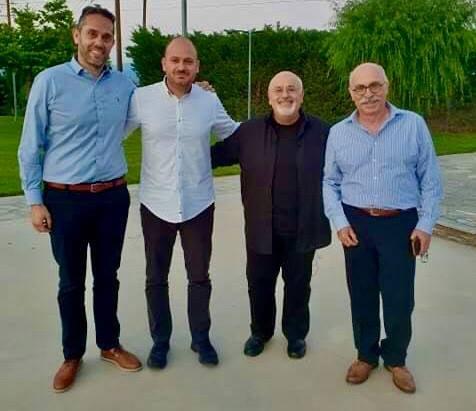 Την Τετάρτη 2 Ιουνίου πραγματοποιήθηκαν τα γυρίσματα για την εκπομπή «Αλάτι της γης» της Ελληνικής Ραδιοτηλεόρασης στη Λάρισα