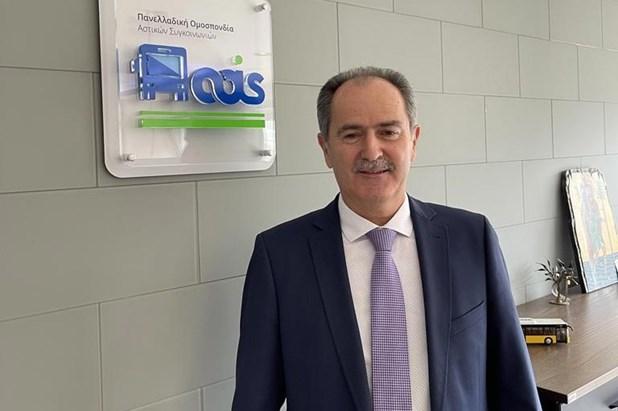 Παμψηφεί πρόεδρος της Π.Ο. Αστικών ΚΤΕΛ ο Λαρισαίος Μιχάλης Σακελλαρίου.